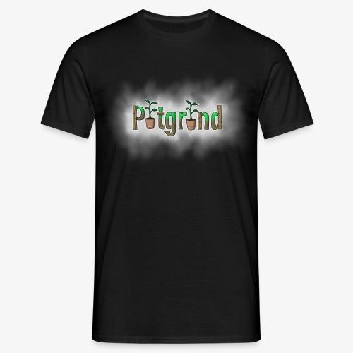 ''Potgrond'' met wolk! - Mannen T-shirt