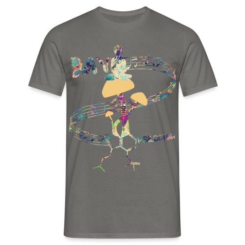 My Psilocybin (Light) - T-shirt herr