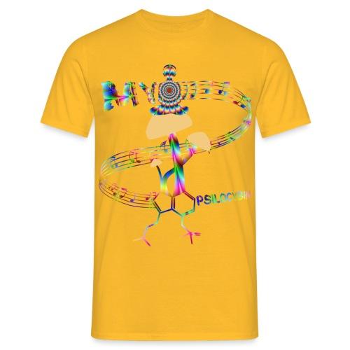 My Psilocybin (Psychadelic) - T-shirt herr