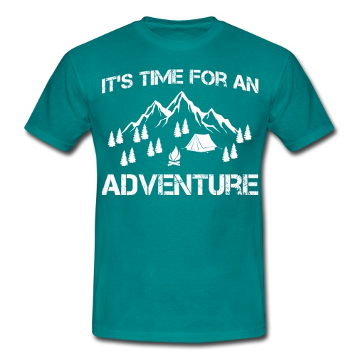 It's time for an adventure - Men's T-Shirt