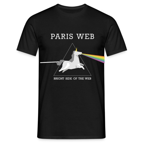Bright side of the web - T-shirt Homme
