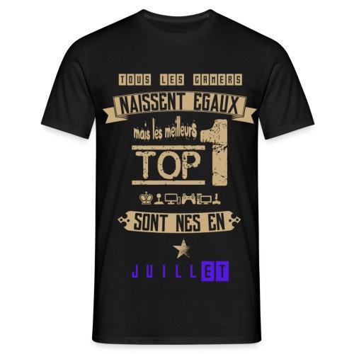 Gameur Top 1 Juillet - T-shirt Homme
