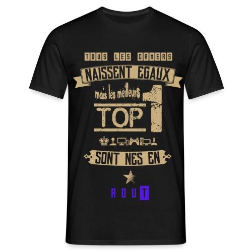 Gameur Top 1 Aout - T-shirt Homme