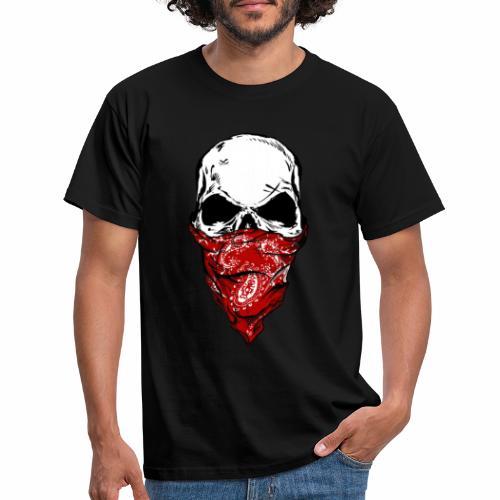 Bandit Skull - Miesten t-paita