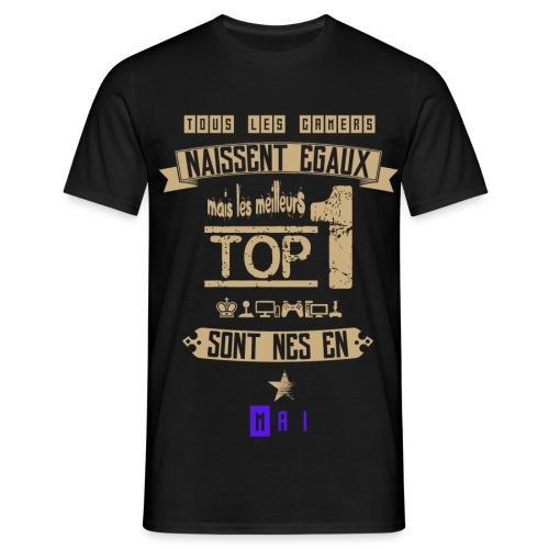 Gameur Top 1 Mai - T-shirt Homme