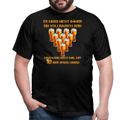 spass mit bier - Männer T-Shirt