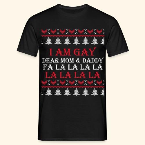 Gay Christmas sweater - Koszulka męska
