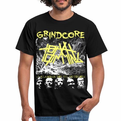 Grindcore tryner - Vi klamrer oss til skyggene - T-skjorte for menn