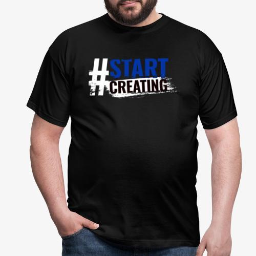 #STARTCREATING - Men's T-Shirt