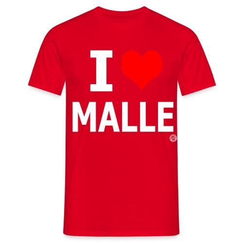 I LOVE MALLE SHIRT Damen Herren Frauen Männer - Mannen T-shirt