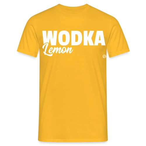 WODKA LEMON SHIRT Vodka Lemon T Shirt Damen Herren - Mannen T-shirt