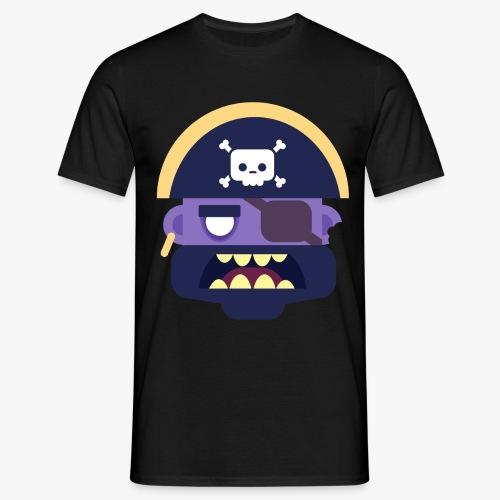 Mini Monsters - Captain Zed - Herre-T-shirt