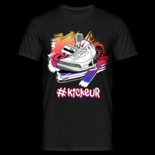#Kickeur Blanc - T-shirt Homme