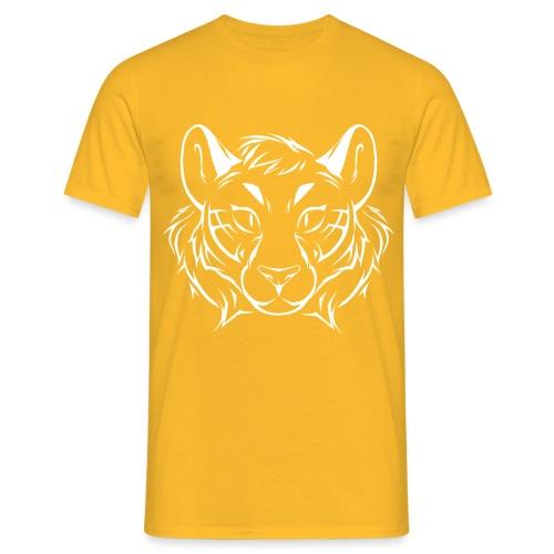 Tigris Picture Logo White - Men's T-Shirt