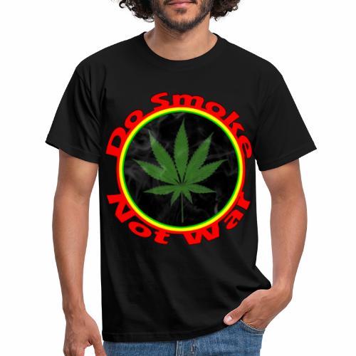 Do Smoke Not War - Männer T-Shirt