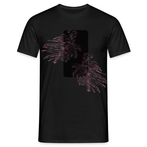 Illusion tropicale noire - T-shirt Homme