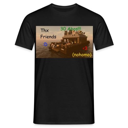30 Abonnenten Logo - Männer T-Shirt