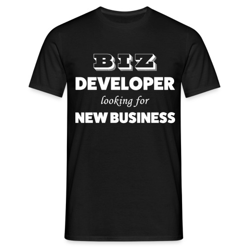 Biz Developer - T-shirt Homme