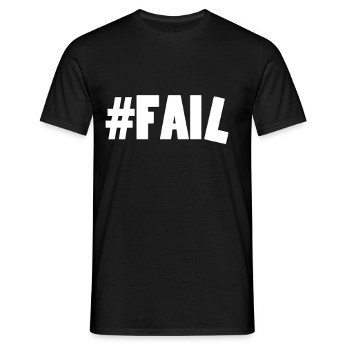 FAIL / White - T-shirt Homme
