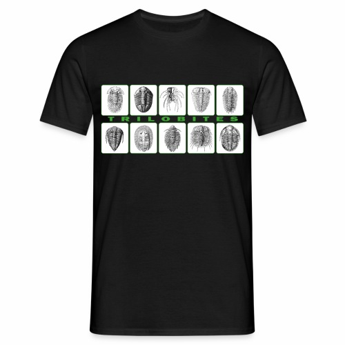 Trilobites block t shirt. - Men's T-Shirt