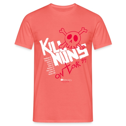 Kill Nuns on tour 1994 - Camiseta hombre