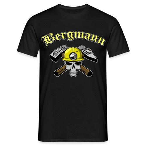 Miner-skull - Männer T-Shirt