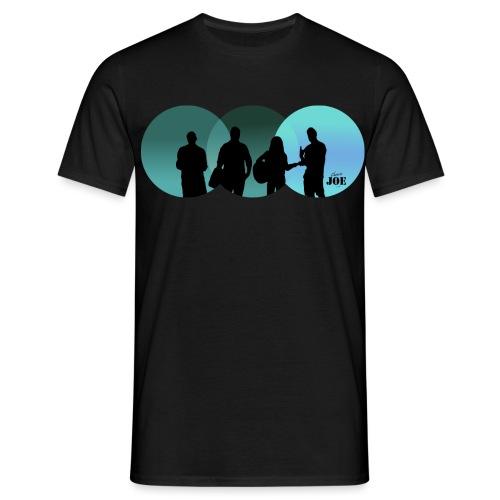 Motiv Cheerio Joe blue - Männer T-Shirt