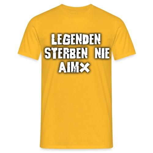 Legenden sterben nie - Männer T-Shirt