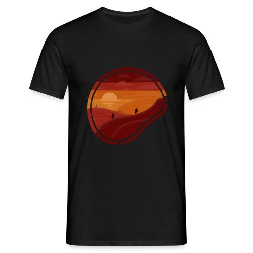 Sunset - Maglietta da uomo