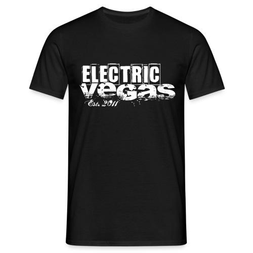 Electric Vegas est 2011 - Männer T-Shirt
