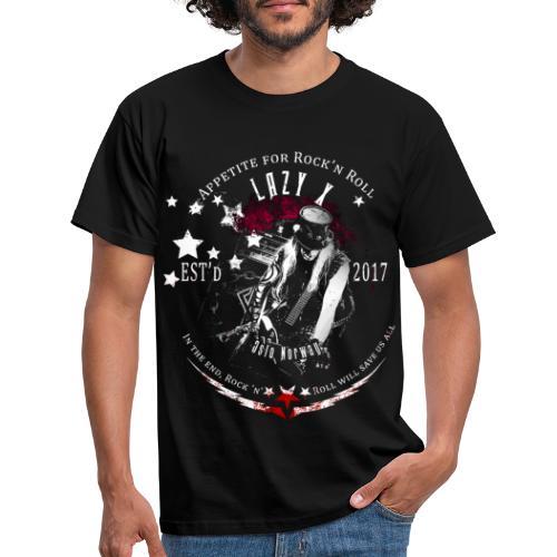 Lazy X - Live - T-skjorte for menn