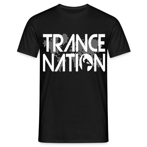 Trance Nation (White) - T-shirt herr