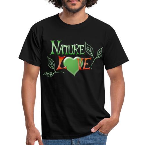 Nature Love - Männer T-Shirt