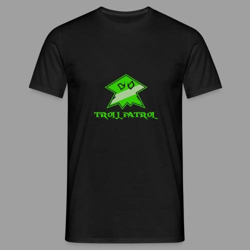 Troll Patrol Logo - Men's T-Shirt