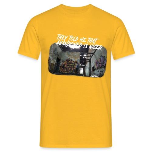 Ontwerp 1 goeie png - Mannen T-shirt