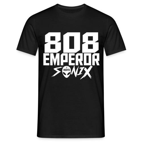 808 EMPEROR Design white NEU - Männer T-Shirt