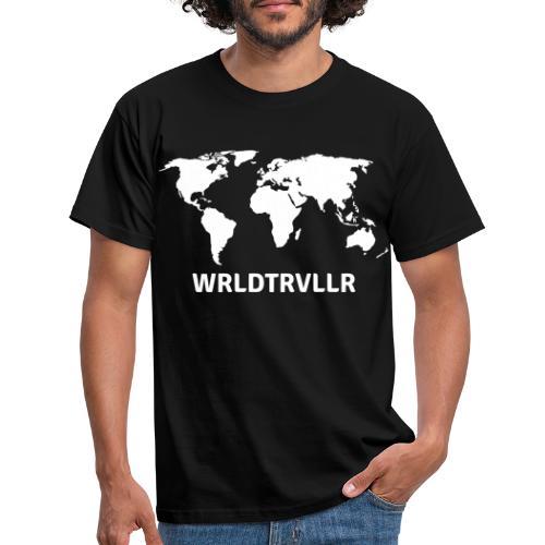 Worldtraveller - Männer T-Shirt