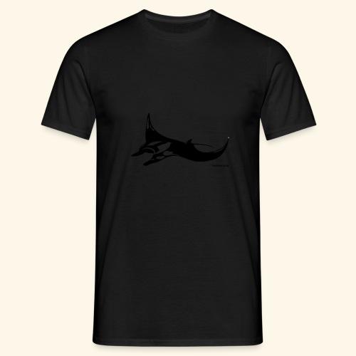 Manta Ray Design - Männer T-Shirt