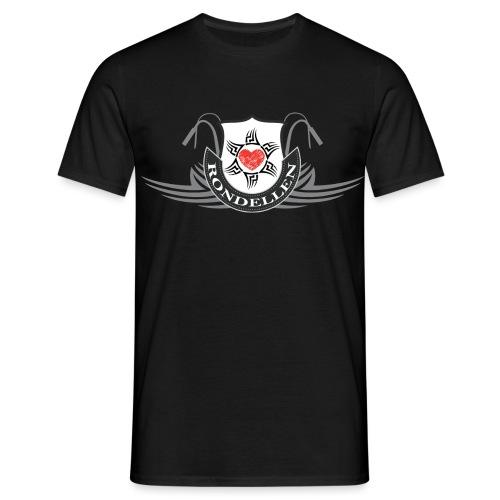 Rondellen tribal hart - T-shirt herr