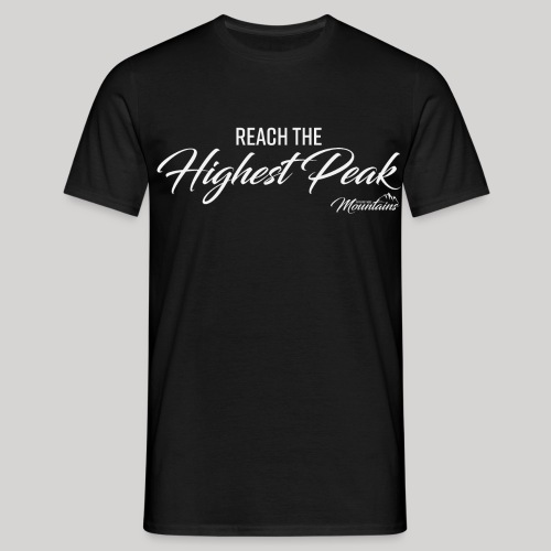 Highest peak - Männer T-Shirt