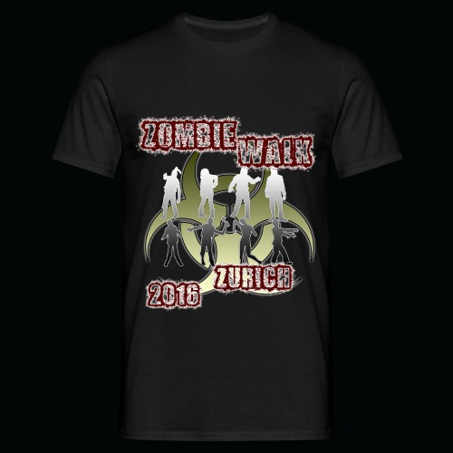 shirt zombie walk1 - Männer T-Shirt