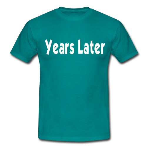 Bandname Years Later weiß - Männer T-Shirt