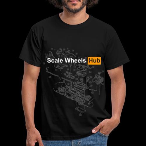 SCALE WHEELS HUB - Maglietta da uomo