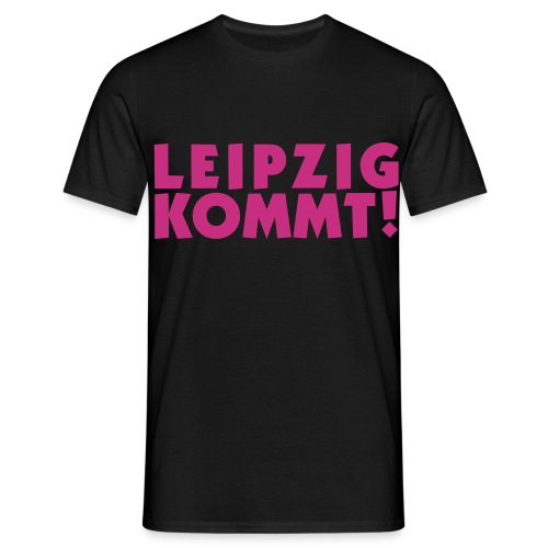 leipzigkommt leipziger leipzig - Männer T-Shirt