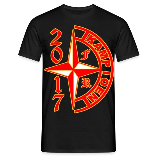 Kampioen 2017 FR - Mannen T-shirt