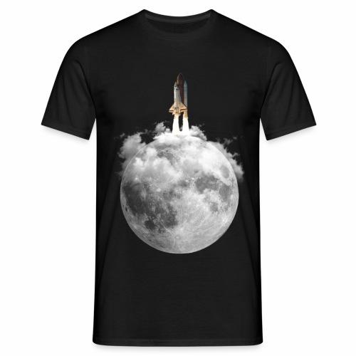 Mondrakete - Männer T-Shirt