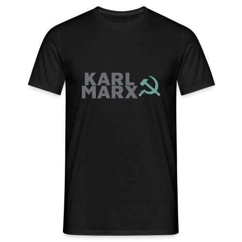 Karl Marx Logo - Maglietta da uomo