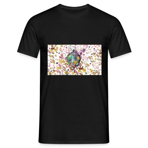 World on Drugs - Männer T-Shirt