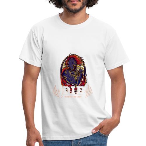 Die before you stop Legendary Fitness Design - Männer T-Shirt