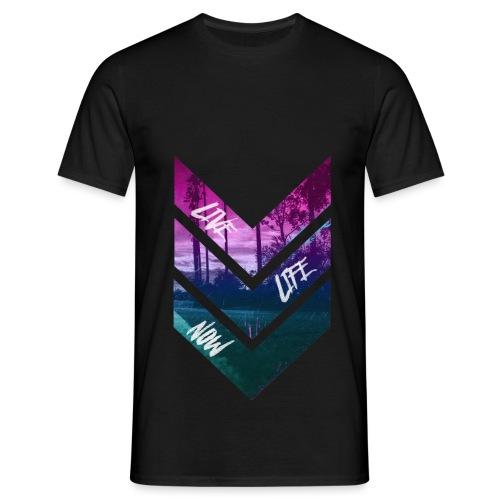Noc Live Life Now - T-shirt herr